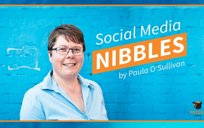 Social Media Nibbles E04: Using social media to improve your sales